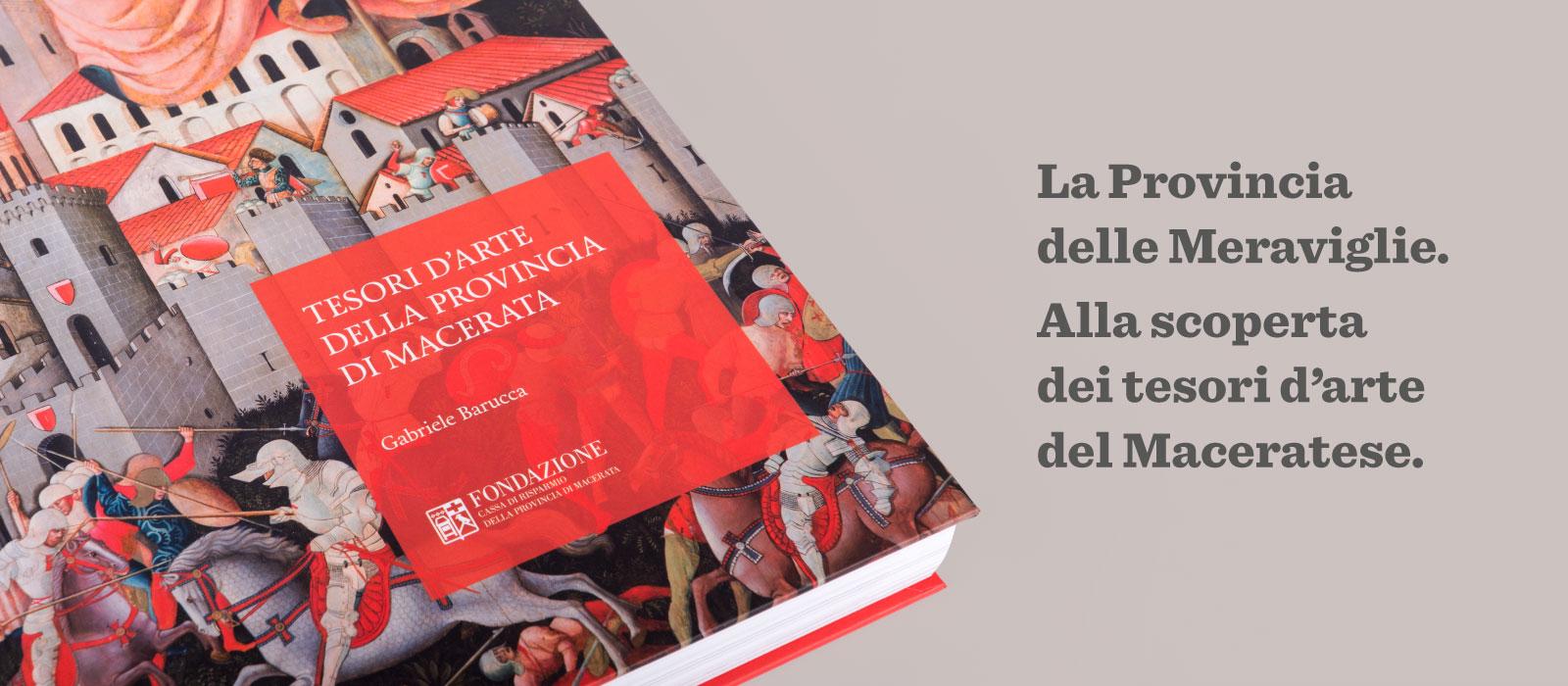 Memphiscom cura il progetto grafico editoriale del libro Tesori d arte della provincia di Macerata
