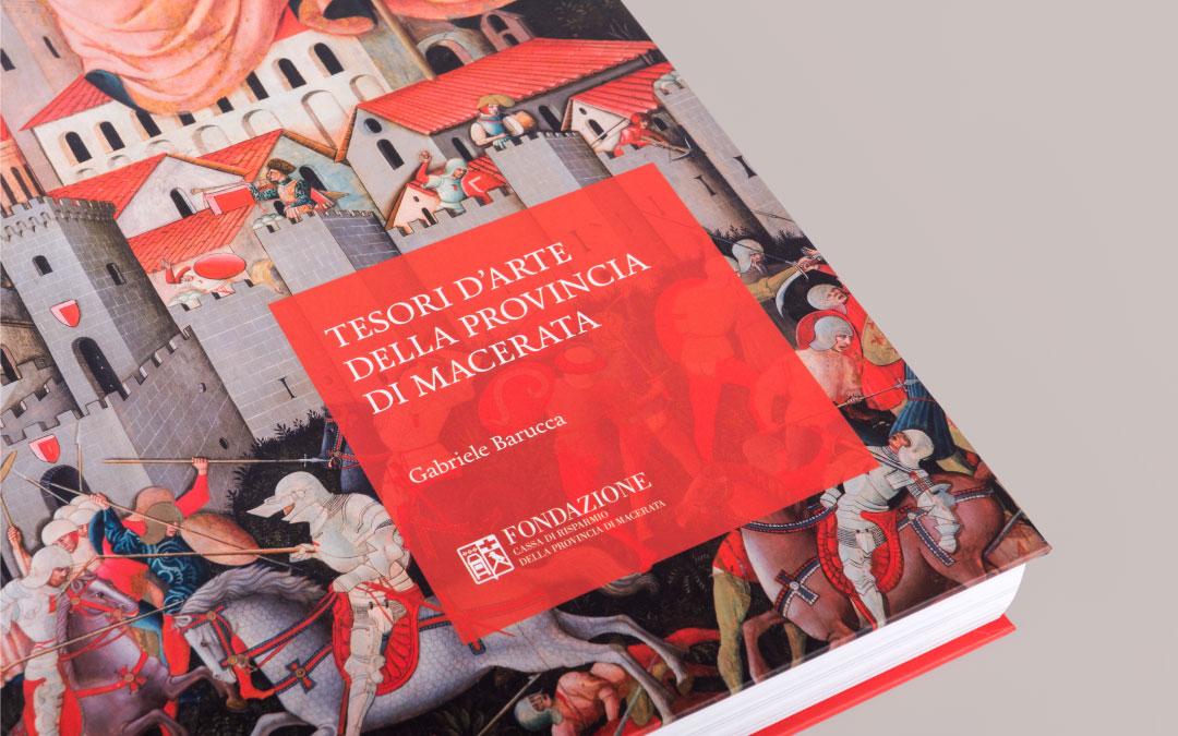 Editoria: il nostro ultimo progetto di book design per la Fondazione Cassa di Risparmio della Provincia di Macerata