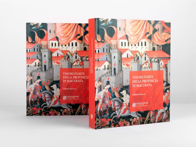 Memphiscom progetto grafico editoriale di Tesori d arte della provincia di Macerata di Gabriele Barucca